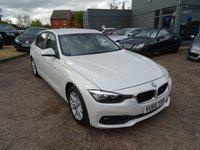 USED 2016 66 BMW 3 SERIES 2.0 320D ED PLUS 4d AUTO 161 BHP ONE OWNER DIGITAL SERVICE HISTORY £8895.83 plus VAT