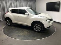 USED 2013 13 NISSAN JUKE 1.6 TEKNA IS 5d 117 BHP FREE UK DELIVERY, AUTOMATIC HEADLIGHTS, AUX INPUT, BLUETOOTH CONNECTIVITY, CLIMATE CONTROL, CRUISE CONTROL, HEATED SEATS, KEYLESS START, REVERSE CAMERA, SATELLITE NAVIGATION, STEERING WHEEL CONTROLS, TOUCH SCREEN HEAD UNIT, TRIP COMPUTER, USB INPUT