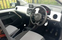 USED 2012 12 VOLKSWAGEN UP 1.0 UP! WHITE EDITION 3d 74 BHP, SAT NAV, SUN ROOF, HEATED SEATS!
