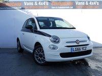 2016 FIAT 500 1.2 POP 3d 69 BHP £5795.00