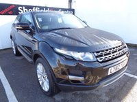 USED 2013 13 LAND ROVER RANGE ROVER EVOQUE 2.2 SD4 PRESTIGE 4WD COUPE AUTO AWD 4X4 4WD satellite navigation bluetooth leather trim  alloy wheels climate control parking sensors full service history supplied with full mot