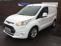 2016 FORD TRANSIT CONNECT 1.5 200 LIMITED P/V 118 BHP 1 OWNER £10299.00