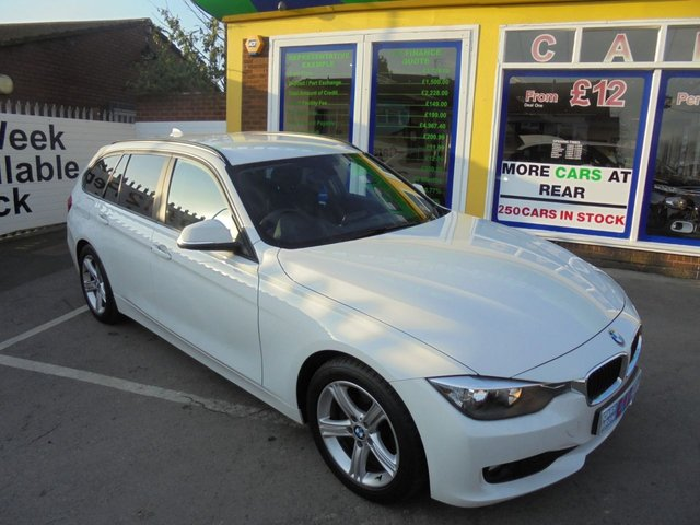 USED 2012 62 BMW 3 SERIES 2.0 320D SE TOURING 5d 181 BHP £0 DEPOSIT FINANCE DEAL AVAILABLE