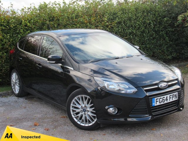 USED 2014 FORD FOCUS 1.6 TDCi 115 Zetec Navigator 5dr * 128 POINT AA INSPECTED * 12 FREE AA MEMBERSHIP *