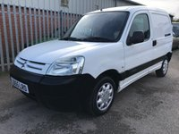 USED 2005 55 CITROEN BERLINGO 2.0 HDI 90BHP L.X 600KG FACELIFT **NO VAT**