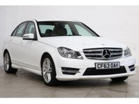 USED 2014 63 MERCEDES-BENZ C CLASS 1.6 C180 BLUEEFFICIENCY AMG SPORT 4d AUTO 154 BHP 2014 ONLY 55K MILES, AUTO AUTOMATIC, HALF LEATHER