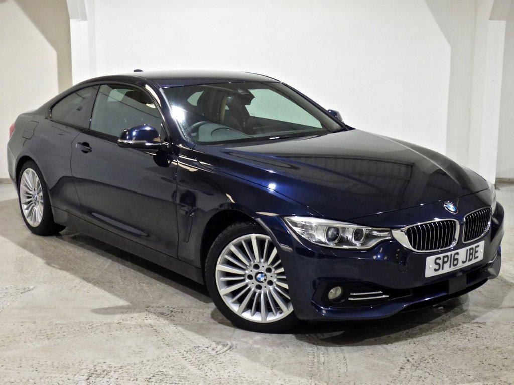 USED 2016 16 BMW 4 SERIES 2.0 420I LUXURY 2d AUTO 181 BHP