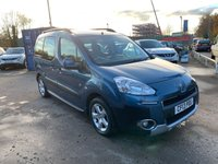 USED 2013 13 PEUGEOT PARTNER 1.6 HDI TEPEE OUTDOOR 5d 92 BHP SERVICE HISTORY