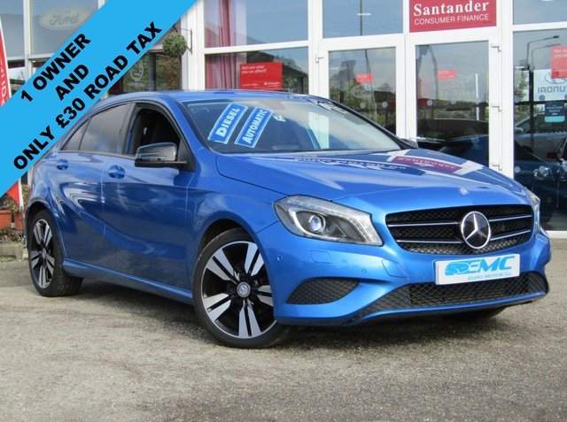 2015 15 MERCEDES-BENZ A CLASS 1.5 A180 CDI BLUEEFFICIENCY SPORT 5d AUTO 109 BHP