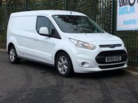 USED 2018 68 FORD TRANSIT CONNECT 1.5 240 LIMITED P/V AUTO 118 BHP