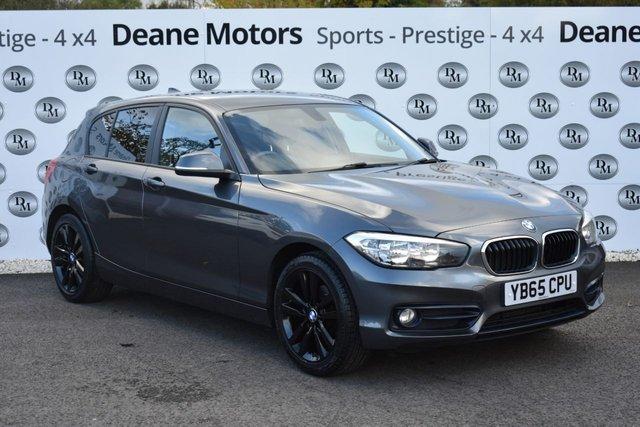 2016 65 BMW 1 SERIES 1.5 116D SPORT 5d 114 BHP BLACK PACK