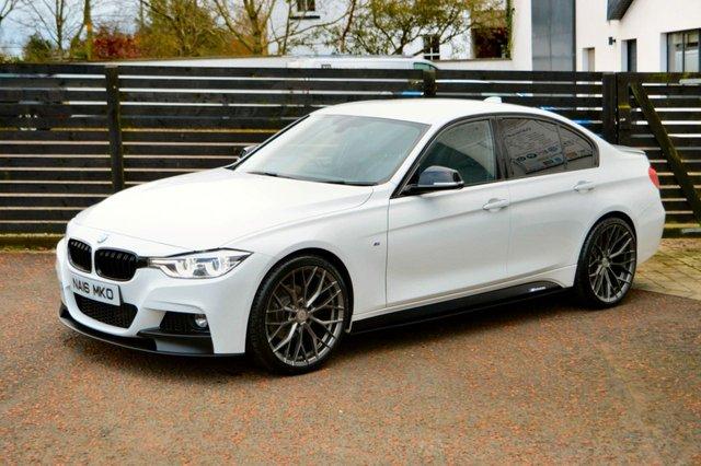 2016 16 BMW 3 SERIES 2.0 320D M SPORT 4d AUTO 188 BHP LCI