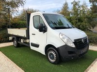 USED 2012 12 VAUXHALL MOVANO 2.3 F3500 L2H1 CDTI 144 BHP EX ROYAL HOUSEHOLD AS USED ON THE SANDRIGHAM ESTATE AIR CONDITIONING RADIO CD VERY TIDY CABIN WITH THREE SEATS PERFECT TIPPING OPERATION TOW BAR AND ELECTRICS SUPERB DRIVER PERFECTLY MAINTAINED BY THE ROYAL ENGINEERS READY FOR WORK