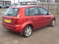 USED 2007 07 FORD FIESTA 1.6 GHIA TDCI 5d 89 BHP * ONLY 51000 MILES, FULL HISTORY * ONLY 51000 MILES, FULL SERVICE HISTORY