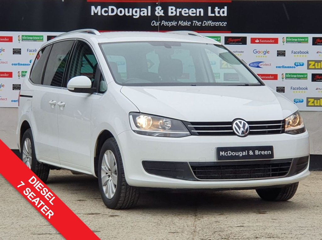 USED 2016 16 VOLKSWAGEN SHARAN 2.0 SE TDI BLUEMOTION TECHNOLOGY 5d 148 BHP ONE OWNER FULL SERVICE HISTORY