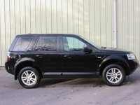 USED 2013 63 LAND ROVER FREELANDER 2.2 TD4 BLACK AND WHITE 5d 150 BHP BLACK AND WHITE LTD EDITION