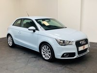 USED 2011 11 AUDI A1 1.4 TFSI SPORT 3d 122 BHP RARE CUMULUS BLUE WITH LOW MILES + FULL HISTORY + FINANCE ?