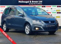 USED 2016 16 SEAT ALHAMBRA 2.0 TDI SE LUX 5d AUTO 184 BHP FULL LEATHER STUNNING EXTRAS!!