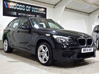 2014 BMW X1 2.0 XDRIVE20D M SPORT 5d AUTO 181 BHP £9880.00