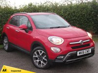 USED 2016 16 FIAT 500X 1.4 MULTIAIR CROSS 5d  * 1 OWNER * 12 MONTHS FREE AA MEMBERSHIP * 128 POINT AA INSPECTED *