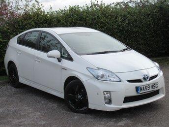 2009 TOYOTA PRIUS 1.8 T SPIRIT VVT-I 5d AUTO 99 BHP £8365.00