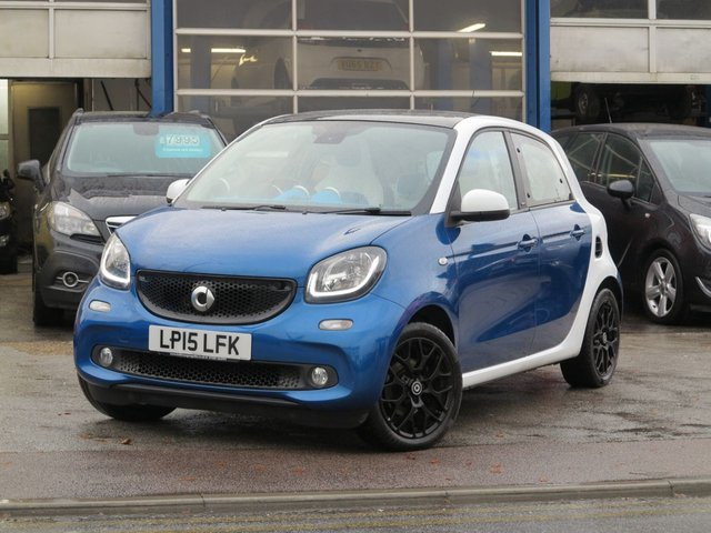 USED 2015 15 SMART FORFOUR 0.9 PROXY PREMIUM PLUS T 5d 90 BHP