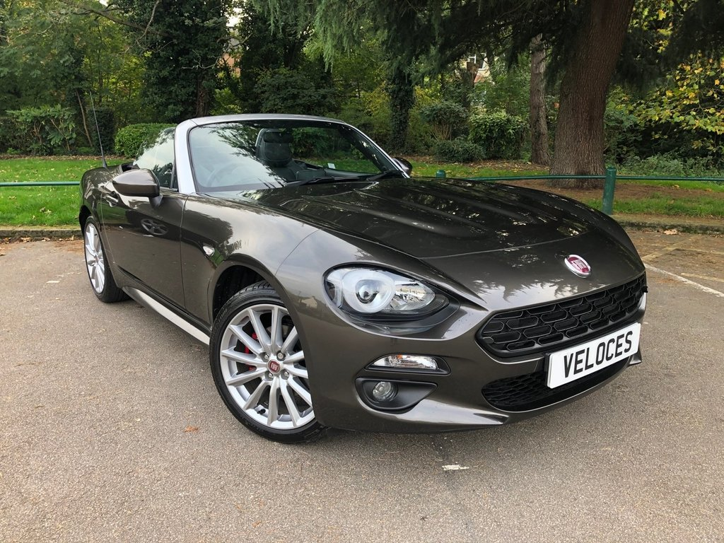 USED 2018 18 FIAT 124 1.4 SPIDER MULTIAIR LUSSO 2d 139 BHP ..AS NEW CONDITION..