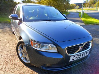 2010 VOLVO S40 1.6 D DRIVE SE 4d 109 BHP ** ONE OWNER FROM NEW, DIESEL, £30 ROAD TAX, SUPERB VEHICLE ** £3495.00