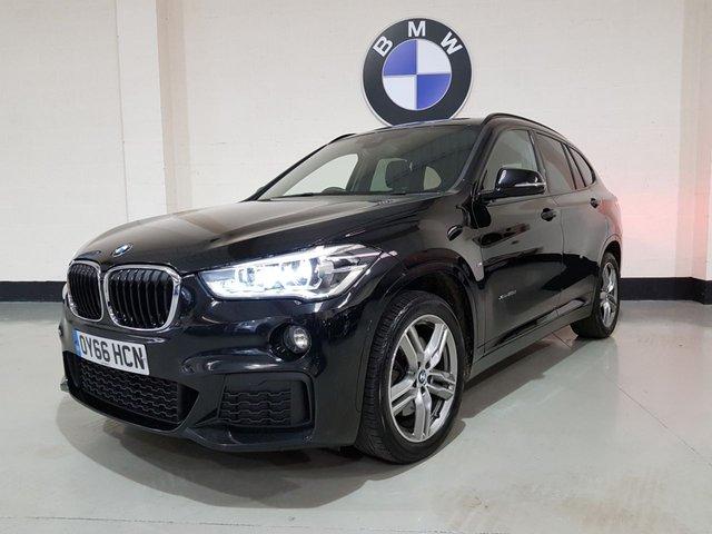 USED 2016 66 BMW X1 2.0 XDRIVE25D M SPORT 5d AUTO 228 BHP 1 Owner/ Bmw History/ Sat-Nav/ Power Boot/ Park Sensors