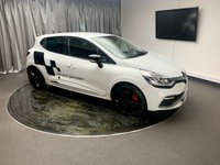 """USED 2013 63 RENAULT CLIO 1.6 RENAULTSPORT 5d AUTO 200 BHP FREE UK DELIVERY, 7"""" TOUCH SCREEN HEAD UNIT, AUTOMATIC HEADLIGHTS, AUX INPUT, BASS REFLEX SOUND SYSTEM, BLUETOOTH AUDIO STREAMING, BLUETOOTH TELEPHONE CONNECTIVITY, CLIMATE CONTROL, CRUISE CONTROL, DRIVE PERFORMANCE CONTROL, DAYTIME RUNNING LIGHTS, GEARSHIFT PADDLES, KEYLESS START, SATELLITE NAVIGATION, STEERING WHEEL CONTROLS, TRIP COMPUTER, USB INPUT"""