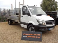 USED 2015 15 MERCEDES-BENZ SPRINTER 2.1 313 CDI DROPSIDE 130 BHP  4.2M BED