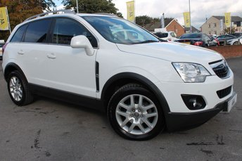 2013 VAUXHALL ANTARA 2.2 EXCLUSIV CDTI 4WD 5d AUTO 161 BHP £5781.00