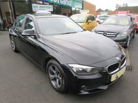 USED 2013 63 BMW 3 SERIES 2.0 320D EFFICIENTDYNAMICS 4d AUTO 161 BHP CALL 01543 379066... 12 MONTHS MOT... 6 MONTHS WARRANTY... DIESEL AUTOMATIC... JUST ARRIVED