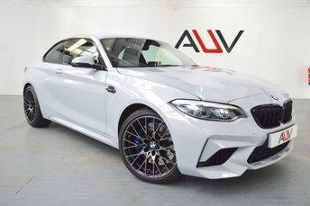 2018 BMW M2 3.0 M2 COMPETITION 2d AUTO 405 BHP £41950.00