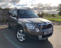 2012 SKODA YETI 2.0 SE TDI CR 5d 138 BHP £6850.00