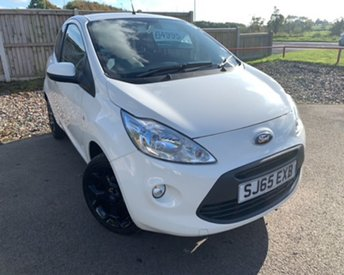 2015 FORD KA 1.2 ZETEC WHITE EDITION 3d 69 BHP £4995.00