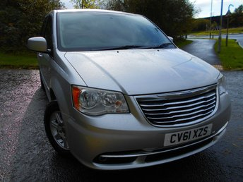 2011 CHRYSLER GRAND VOYAGER 2.8 CRD TOURING 5d AUTO 161 BHP ** ONE PREVIOUS OWNER , DIESEL, AUTOMATIC, ONLY 68K ,7 SEATER, ELECTRIC SLIDING DOORS AND TAILGATE, FULLY LOADED, SUPERB VEHICLE, BARGAIN £6495 !!! ** £6495.00