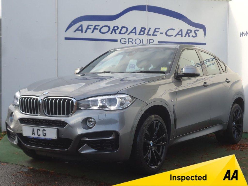 USED 2017 17 BMW X6 3.0 M50D 4d AUTO 376 BHP
