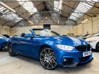 2016 BMW 4 SERIES 3.0 435d M Sport xDrive 2dr £22991.00