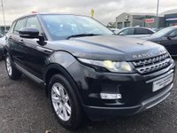USED 2013 13 LAND ROVER RANGE ROVER EVOQUE 2.2 SD4 Pure AWD 5dr 2 OWNERS+FSH+1 YEARS MOT+MINT!