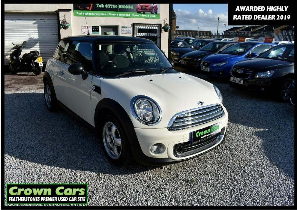 USED 2011 11 MINI HATCH ONE 1.6 One (Pepper) 3dr APPLY FOR FINANCE ON WEBSITE
