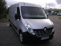 USED 2016 65 RENAULT MASTER 2.3 LM35 BUSINESS PLUS DCI 125 BHP VAN - NO VAT Air Con, 47000 miles, Service History, 6 Month Warranty