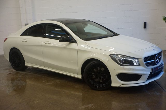2014 14 MERCEDES-BENZ CLA 2.1 CLA220 CDI AMG SPORT 4d AUTO SOLD TO A CUSTOMER IN NOTTINGHAM