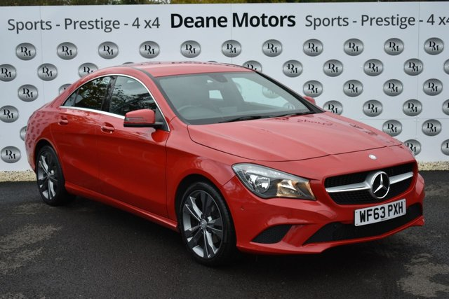 2013 63 MERCEDES-BENZ CLA 1.6 CLA180 SPORT 4d 122 BHP SALE TAKE £300 OFF