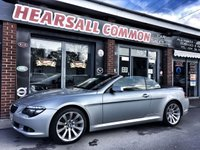 USED 2008 08 BMW 6 SERIES 3.0 635D SPORT 2d AUTO 282 BHP