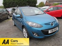 USED 2011 11 MAZDA 2 1.5 SPORT 5d 101 BHP ALLOYS CD AIRCON ELECTRIC PACK EXCELLENT MPG