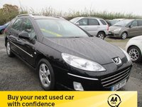 USED 2010 10 PEUGEOT 407 2.0 SW SPORT HDI 5DR ESTATE LOW MILEAGE PANORAMIC ROOF ALLOYS CD AIRCON