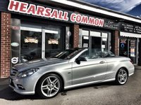 2011 MERCEDES-BENZ E CLASS 3.0 E350 CDI BLUEEFFICIENCY SPORT 2d AUTO 231 BHP £10000.00