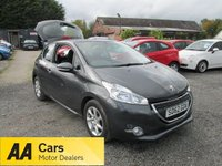 USED 2012 62 PEUGEOT 208 1.2 ACTIVE 3DR ALLOYS CD AIRCON  ALLOYS CD AIRCON LOW TAX GROUP
