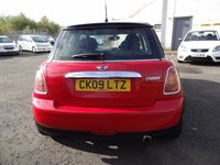 USED 2009 09 MINI HATCH COOPER 1.6 COOPER 3d 118 BHP 3 Months National Warranty - 1 Years MOT for New Owner